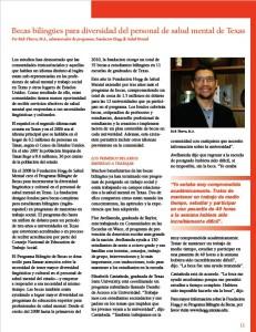 Report Cover: Bilingual Studies Spanish