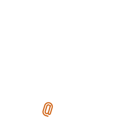 Mic icon embedded in a white circle, with %22Ike @ The Mic%22 on the outer circumference