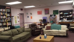 ASH peer support lounge