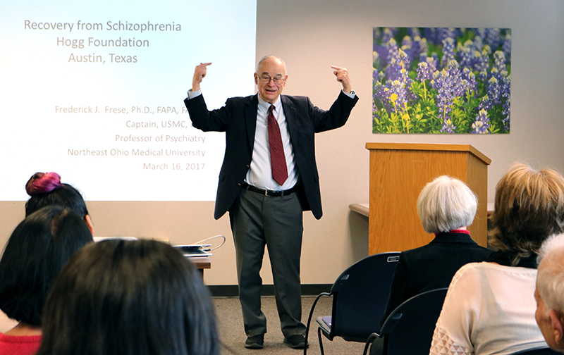 Dr. Fred Frese: Recovery from Schizophrenia