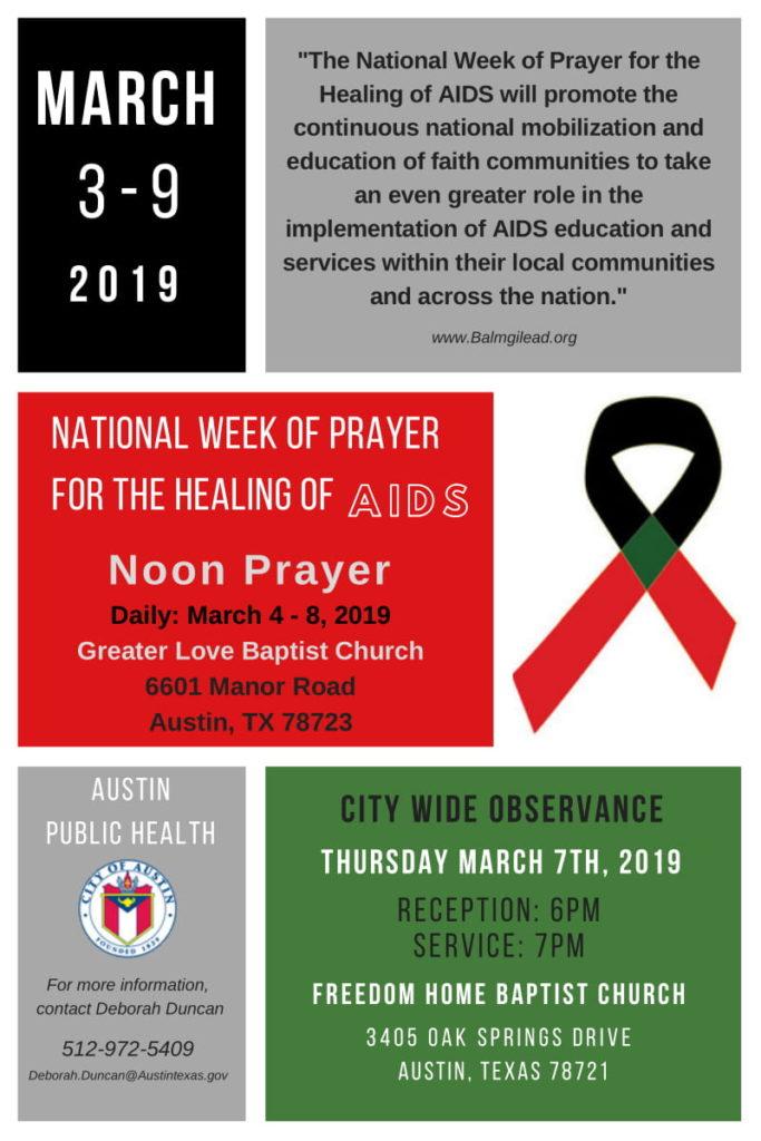 National Week of Prayer