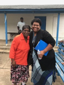 Ms. Mims and Sherry