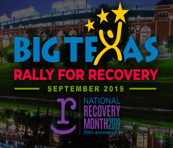 Big Texas Rally for Recovery logo