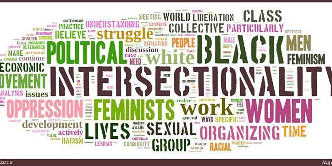 word cloud on intersectionality