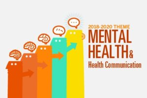 mental health and health communication graphic