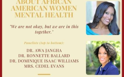 EVENT | Webinar on African American Women & Mental Health, 11/24 at 6:30 PM