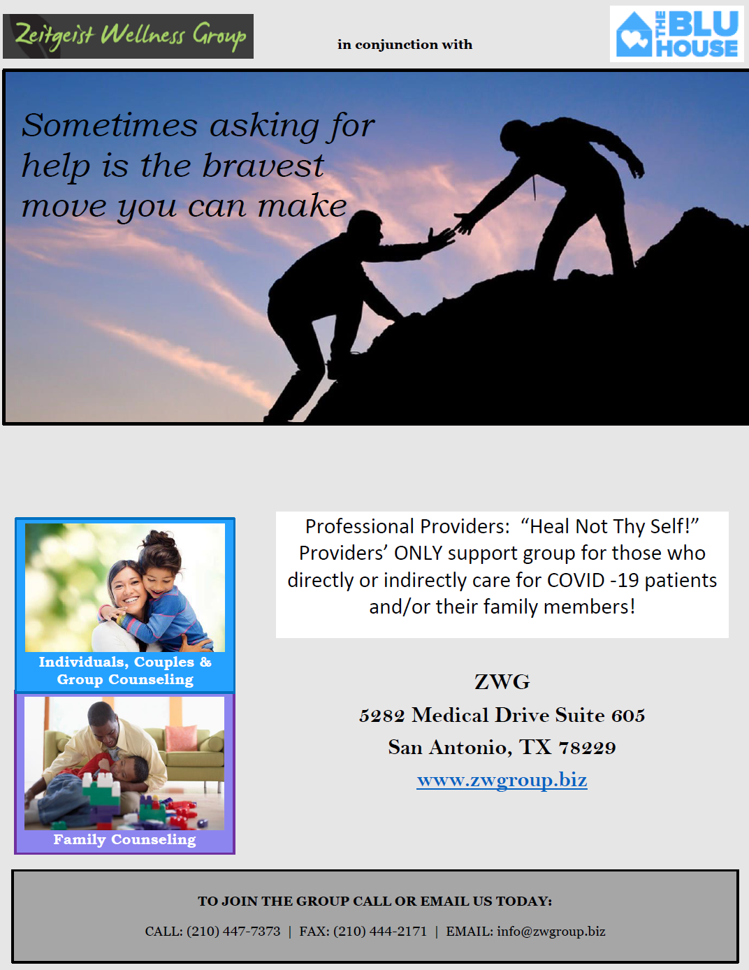 support group info flyer
