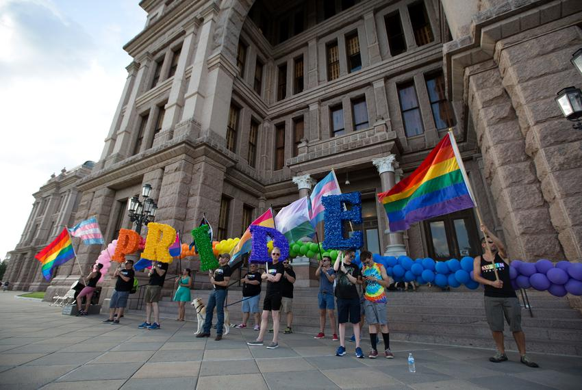 Photo of ATX LGBTQ Stonewall Rally