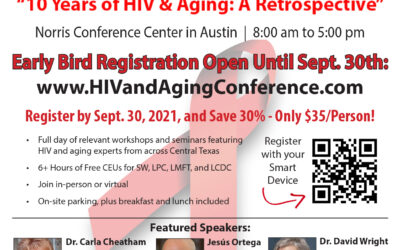 Early Bird Registration for the 10th Annual HIV and Aging Conference