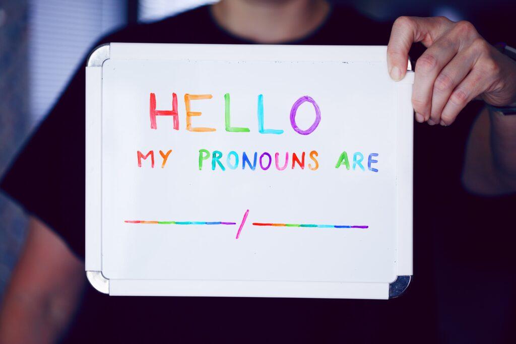 gender affirmation pronouns