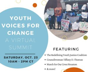 Young Minds Matter 2021: Youth Summit flyer