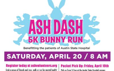 EVENT   ASH Dash 5K Bunny Run