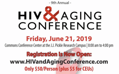 EVENT | Ninth Annual HIV & Aging Conference, 6/21/2019