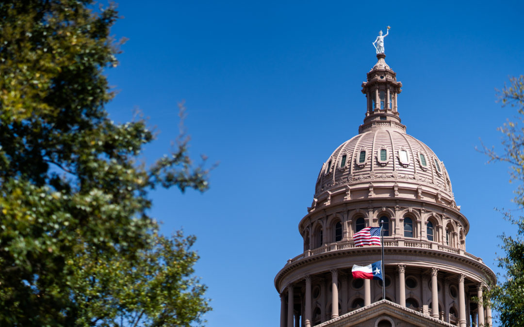 Texas 86th Legislative Session and Mental Health