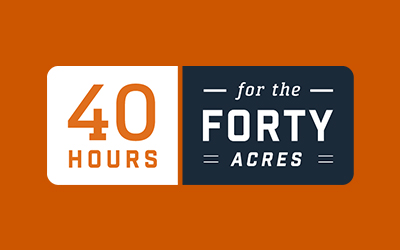 40 Hours for the Forty Acres: Days of Giving