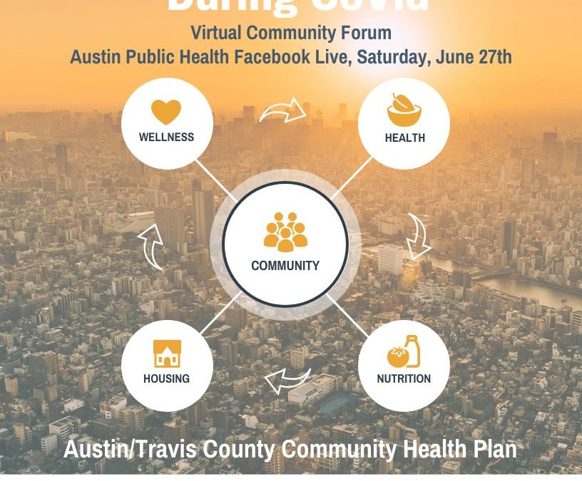 Community Forum: Accessing Services during Covid-19, 6/27
