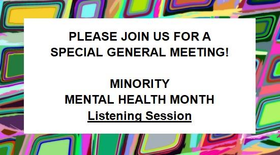 NAMI San Antonio Listening Session: Part I – Race & Racism, 7/14/20