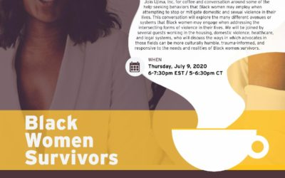 Coffee & Conversation: When Black Women Seek Help  | Thursday, July 9th at 6pm ET — RSVP Required