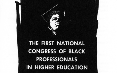 Hogg History: The First National Congress of Black Professionals in Higher Education