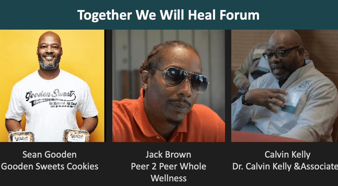 Barber Shop Talk: May 19 at 7:00 pm for #TogetherWeWillHeal Forum