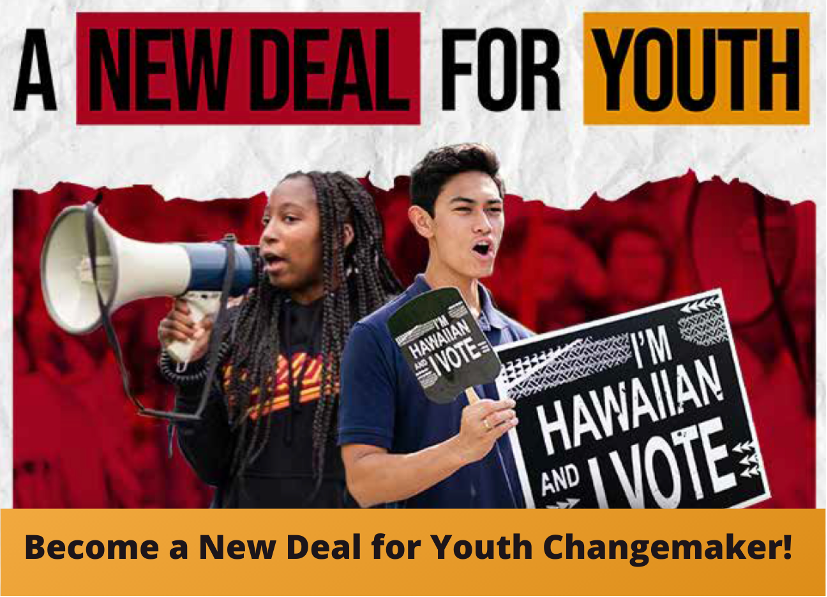 New Deal 4 Youth graphic